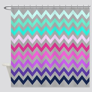 Chevron #10, Shower Curtain