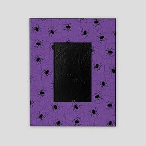 Purple Spider Pattern Picture Frame