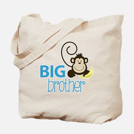 Big Brother Silly Monkey Tote Bag