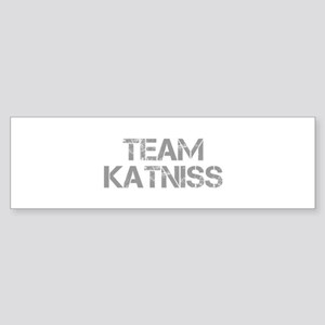 TEAM-KATNISS-cap-gray Bumper Sticker