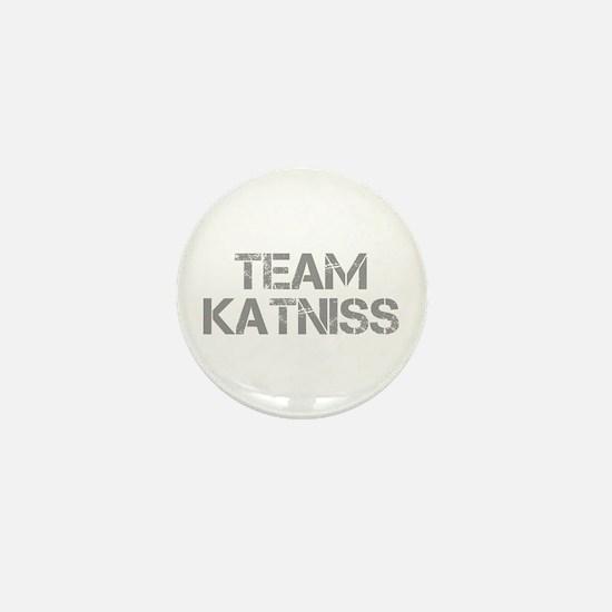 TEAM-KATNISS-cap-gray Mini Button