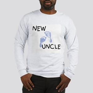 New Uncle (blue) Long Sleeve T-Shirt