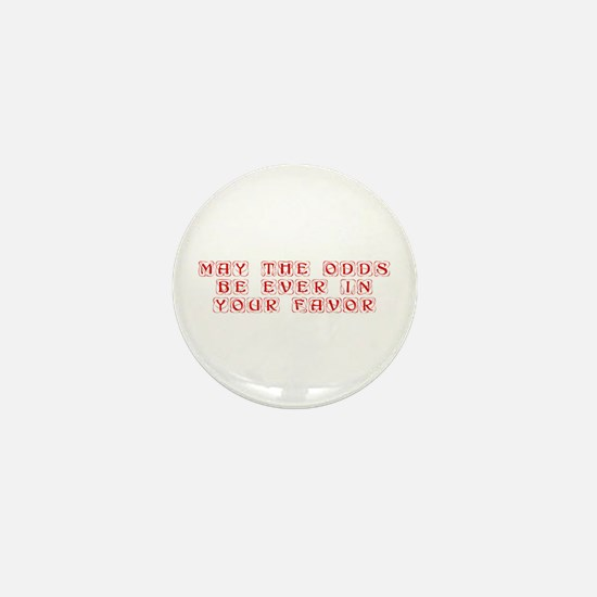 may-the-odds-kon-red Mini Button