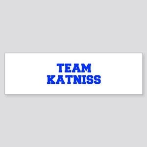 TEAM-KATNISS-fresh-blue Bumper Sticker