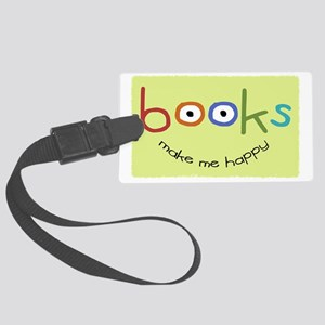 bookshappytote Large Luggage Tag