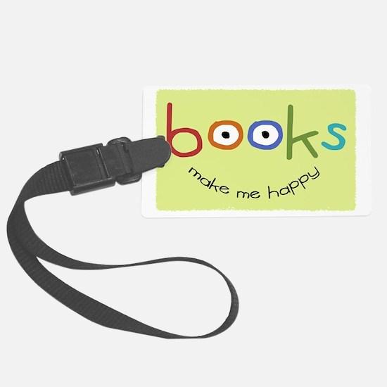 bookshappytote Luggage Tag