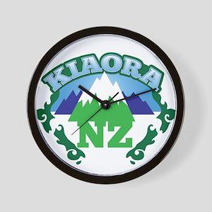 KIAORA greeting hello with mountains NEW ZEALAND W