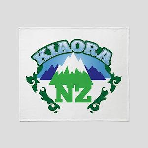 KIAORA greeting hello with mountains NEW ZEALAND T