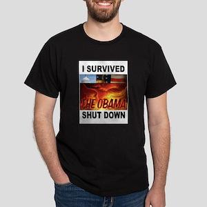 SHUT DOWN OBAMA T-Shirt