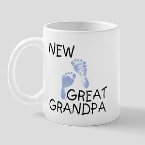 New Great Grandpa (blue) Mug