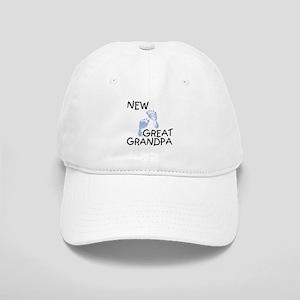 New Great Grandpa (blue) Cap