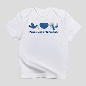 Peace Love Hanukkah Infant T-Shirt