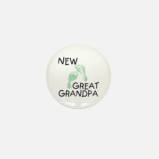 New Great Grandpa (green) Mini Button