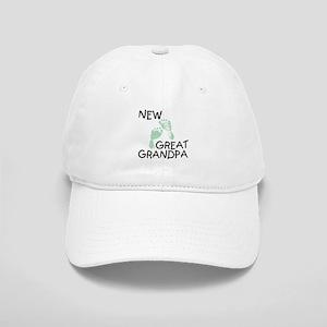 New Great Grandpa (green) Cap