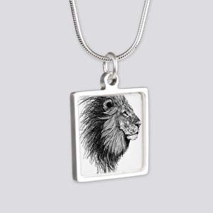 Lion (Black and White) Necklaces