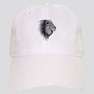 Lion (Black and White) Cap