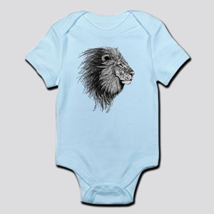 Lion (Black and White) Body Suit