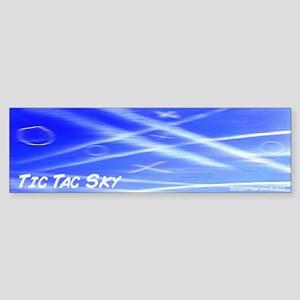 The Tic Tac Sky Bumper Sticker