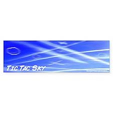 The Tic Tac Sky Bumper Sticker