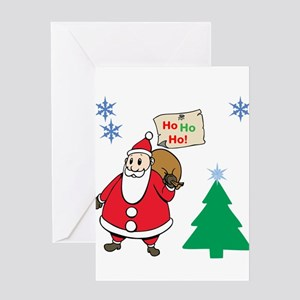 Ho Ho Ho Greeting Cards