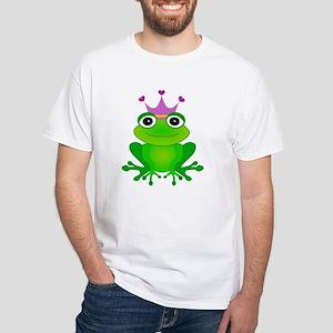 Purple Crown Frog Prince T-Shirt