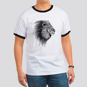 Lion (Black and White) T-Shirt