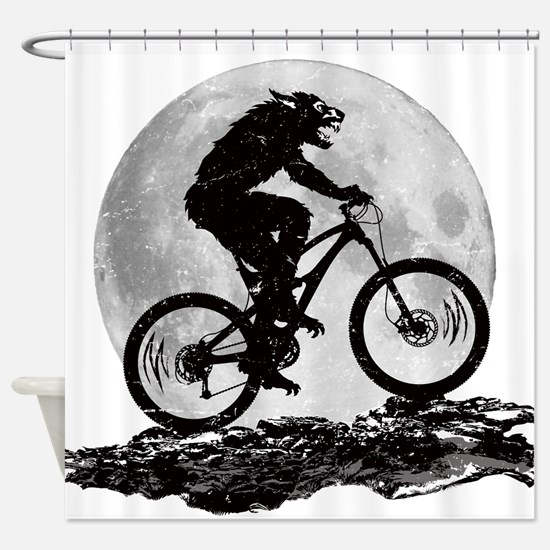 Howl at the Moon Shower Curtain