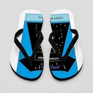 Happy Birthday Flip Flops