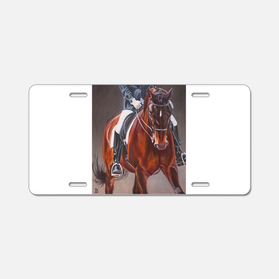 Dressage Intensity Aluminum License Plate