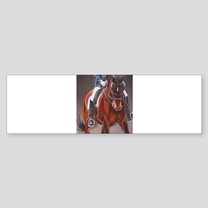 Dressage Intensity Bumper Sticker