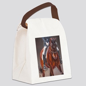 Dressage Intensity Canvas Lunch Bag