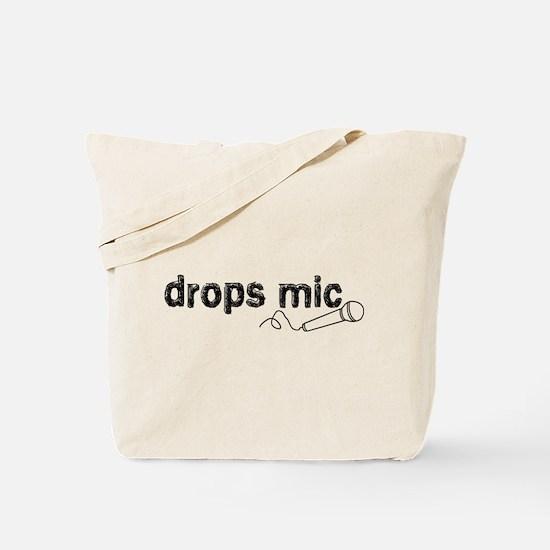 Drops Mic Comedy Tote Bag
