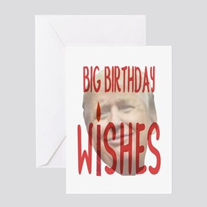 BIG BIRTHDAY WISHES Greeting Cards