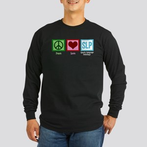 Speech Language Pathology Long Sleeve Dark T-Shirt