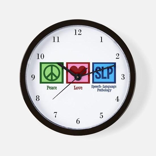 Speech Language Pathology Wall Clock