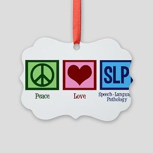 Speech Language Pathology Picture Ornament