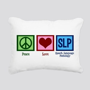 Speech Language Patholog Rectangular Canvas Pillow