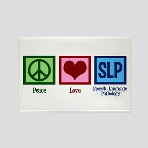 Speech Language Pathology Rectangle Magnet