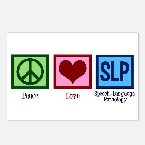 Speech Language Pathology Postcards (Package of 8)