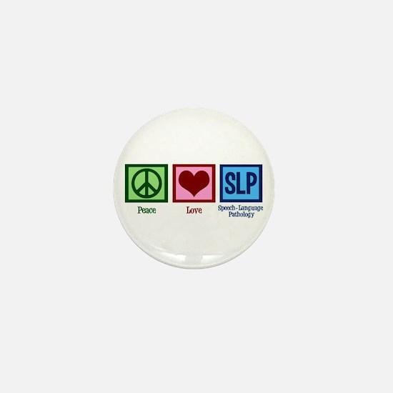 Speech Language Pathology Mini Button