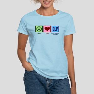 Speech Language Pathology Women's Light T-Shirt
