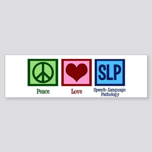 Speech Language Pathology Sticker (Bumper)