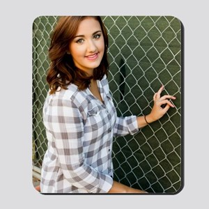 Woman Smiling Mousepad