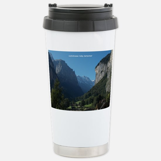 Lauterbrunnen Valley, Switzerla Stainless Steel Tr