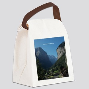 Lauterbrunnen Valley, Switzerland Canvas Lunch Bag