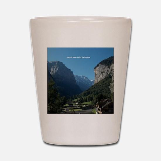 Lauterbrunnen Valley, Switzerland Shot Glass