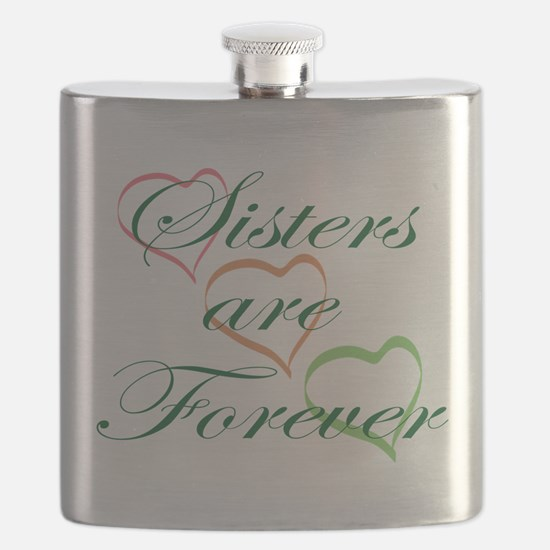 Sisters Are Forever Flask