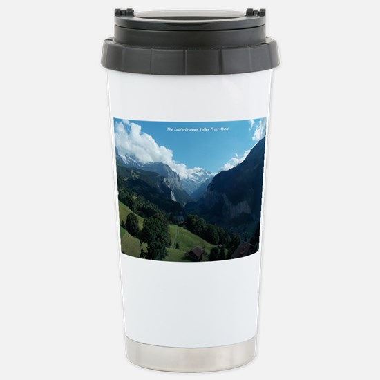 Lauterbrunnen Valley from Wenge Stainless Steel Tr