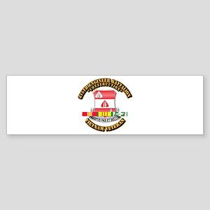 Army - 815th Engineer Bn w SVC Ribbon Sticker (Bum