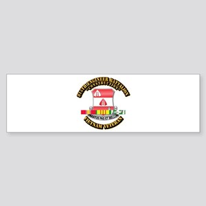 Army - 815th Engineer Bn w SVC Ribbon Sticker (Bum